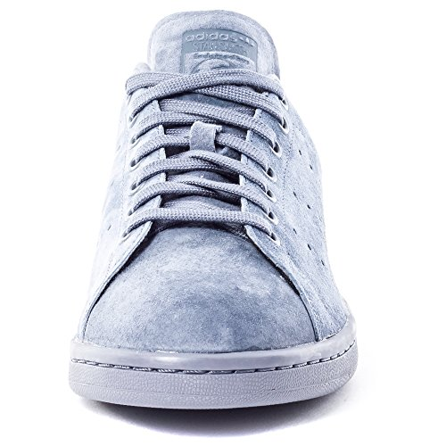 Adidas Originals STAN SMITH VINTAGE Zapatillas Sneakers Cuero Gamuza Gris para Unisex