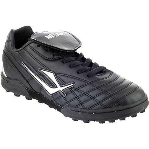 Mirak - Botas de fútbol para hombre negro negro 1