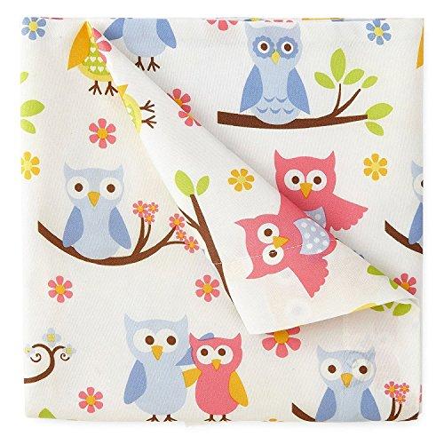 Kute Kids Twin Size Sheet Sets, Twin, Owl