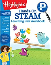Preschool Hands-On STEAM Learning Fun Workbook (Highlights Learning Fun Workbooks)