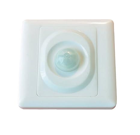 Sensor de movimiento iluminación buzones Sensor interruptor 200 W: Amazon.es: Iluminación