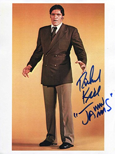 [Richard Kiel BOND 007 autograph, IP signed photo] (Jaws James Bond Costume)