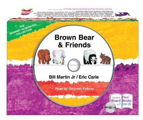 Brown Bear and Friends board book and CD set -