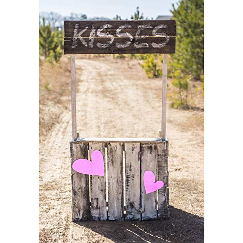 AOFOTO 5x7ft Roadside Kissing Booth Backdrop Vinyl Valentine's Day Spring Outing Travel Photography Background Girls Birthday Party Events Photos Decoration Photo Studio Props]()