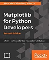 Matplotlib for Python Developers, 2nd Edition Front Cover