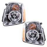 yukon denali 2014 - Driver and Passenger Headlights Headlamps Replacement for GMC Yukon Denali & XL Denali 20969896 20969897
