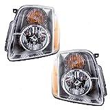 07 gmc yukon denali - Driver and Passenger Headlights Headlamps Replacement for GMC Yukon Denali & XL Denali 20969896 20969897