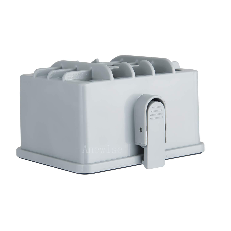 "Anewise NV480 HEPA Filter Kit for Shark Rotator NV450 NV451 / Rocket NV472 NV480 NV481 NV482 NV484 Professional Upright Vacuum, Part # XHF480 & XHF450 (Tall Size 2.75"")"