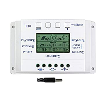 Solarenergie 20a 12v/24v Solar Panel Charge Controller Battery Regulator Safe Protection Yy Heimwerker
