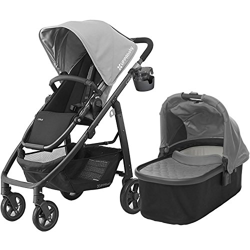 UPPAbaby 2017 Cruz Stroller with Bassinet, Pascal by UPPAbaby