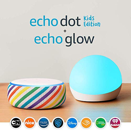 Echo Dot Kids Edition - Rainbow - With Echo Glow