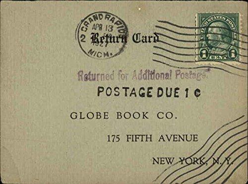 Vintage Advertising Postcard: Globe Book Co, 175 Fifth Avenue, New York, N.Y Advertising