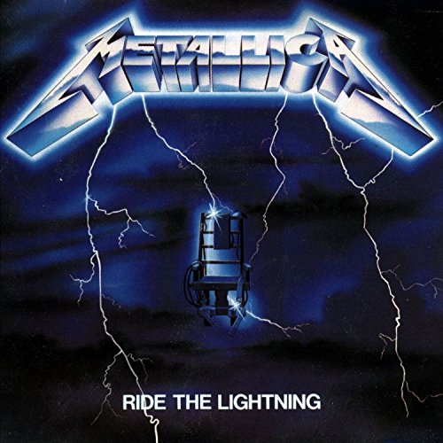 Ride The Lightning Deluxe w/book, mini book and poster set
