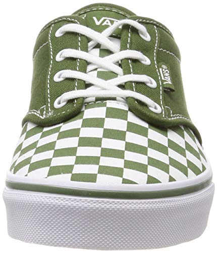 Garden Verde Vans checkered Para Atwood Vw5 Checkerboard Green Zapatillas Niños xTqAwR1S0q
