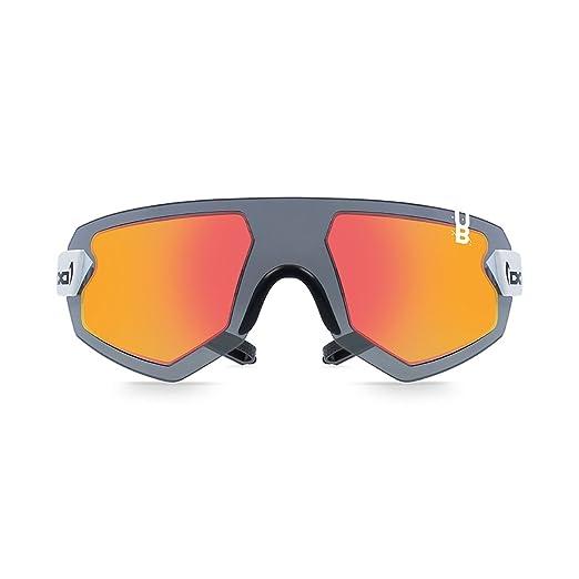 Gloryfy Unbreakable Eyewear G9XTR helioz Stratos Red Occhiali da sole Gloryfy, Black, One size