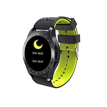 DYNAS KY009 Bluetooth Smart Pulsera Ritmo Cardíaco Tensiómetro Anti Scratch Vida Impermeable Deportes Reloj,Yellow: Amazon.es: Deportes y aire libre