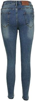 IW Isabell Werth Damska Jeanshose Modell 44 Blue, Stone-Washed Blue Jeans, Destroyed-Effekt Größe 27: Sport & Freizeit