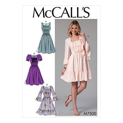 Unbekannt McCall \'s Damen Schnittmuster 7500nbsp;Raffung amp ...
