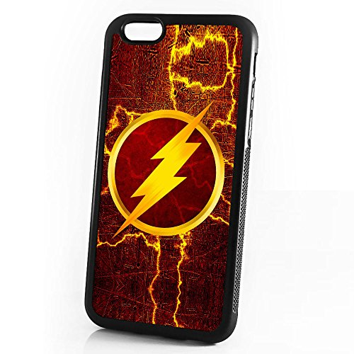 (for iPhone 6 Plus/iPhone 6S Plus) Durable Protective Soft Back Case Phone Cover - HOT30060 Superhero Flash (6 The Case Flash Iphone)