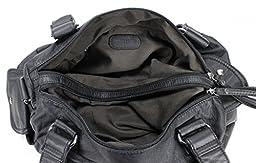 Scarleton Soft Multi Pocket Shoulder Bag H163001 - Black