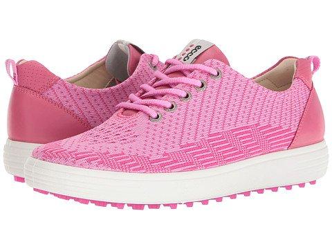 (エコー) ECCO レディースゴルフシューズ靴 Casual Hybrid Knit [並行輸入品] 39 (US Women's 8-8.5) (n/a) B - M Pink/Beet Root/Fandango B071Y8BXL4