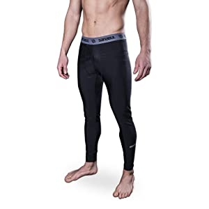 Best Bjj Compression Pants - Sanabul Mens Compression Base Layer Workout Jiu Jitsu Spats Tights