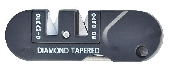 ZENDY afilador de cuchillos Mini-táctico antideslizante ...