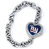 NFL Women's NFL-HEA-NYG Heart Collection New York Giants Watch