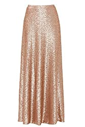 Maxi Skirts With Sequins