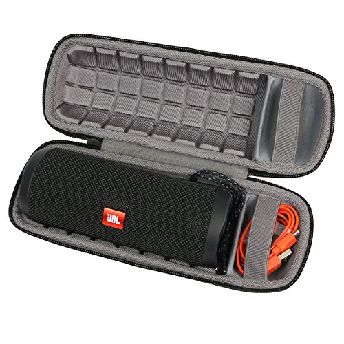 Solid Strap Zipper - co2crea Hard Carrying Travel Case for JBL Flip 3 4 Waterproof Portable Bluetooth Speaker