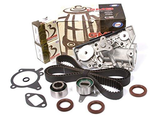 Evergreen TBK179WP Fits 91-96 Ford Escort Mazda Mercury 1.6L 1.8L DOHC 16V B6 BP Timing Belt Water Pump Kit ()
