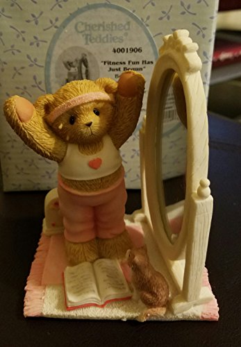 (Cherished Teddies Bethany Teddy Bear Fitness Exercise - Resin 4.25 IN)