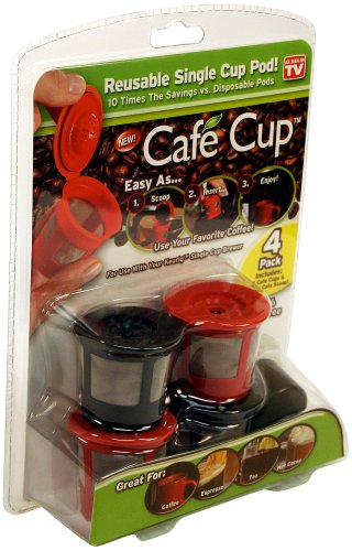 Cafe Cup Reusable Single Pod