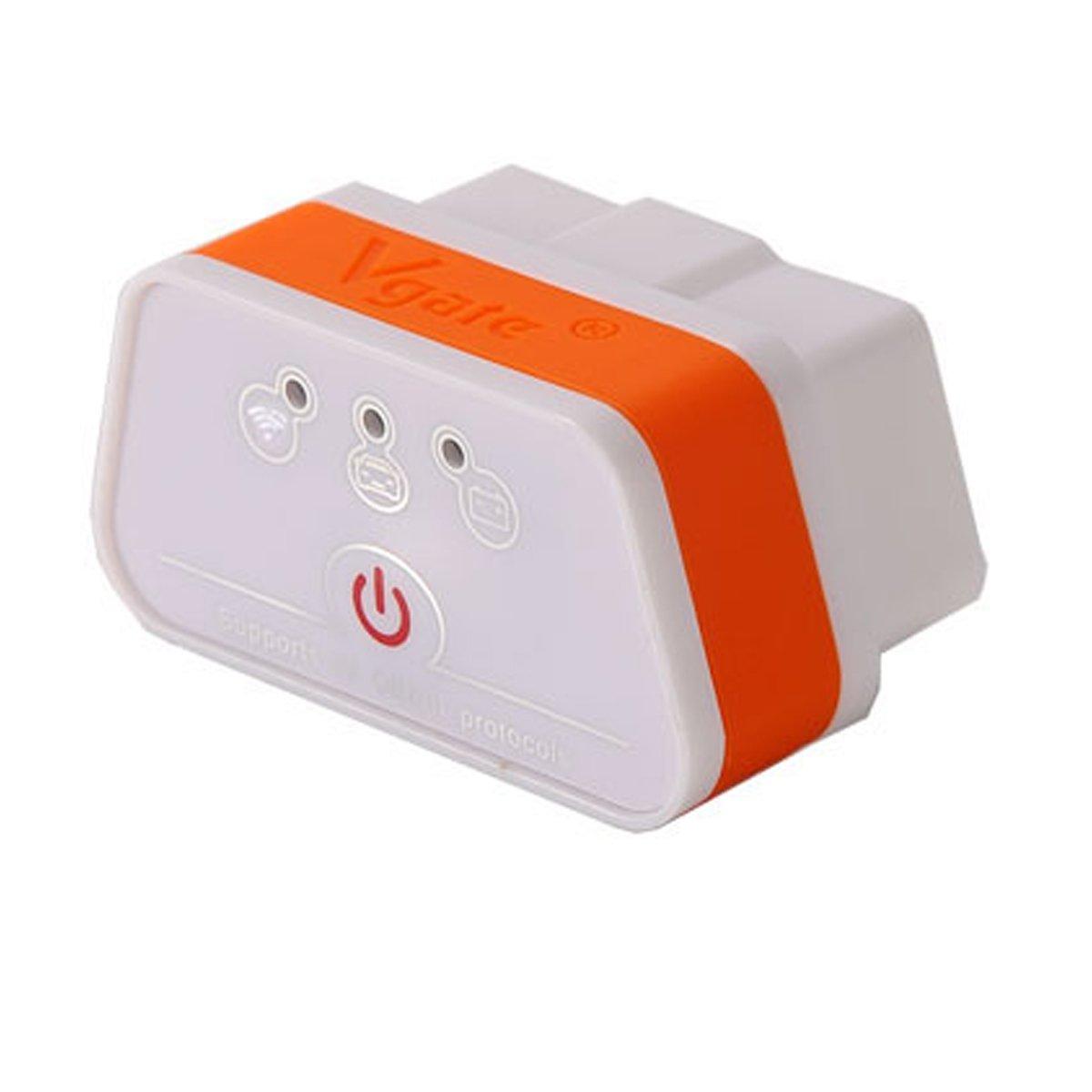 IDS Home ELM327 Wi-Fi OBD2 Car Diagnostic Tool Plastic - Orange + White