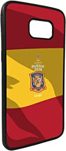 Decalac Spain design Protection Cover for Samsung Galaxy S7 Edge, Multi Color