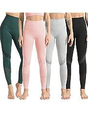 Lixada أزياء المرأة اليوغا طماق سلس أعلى الخصر الجري تسلق اللياقة البدنية الرياضة تيز اليوغا السراويل