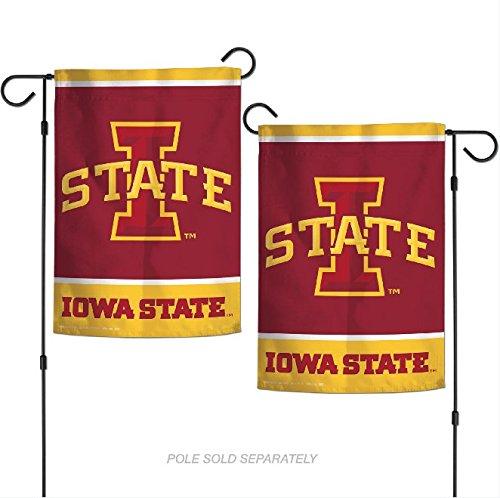 "WinCraft NCAA Iowa State Cyclones 12.5"" x 18"" Inch 2-Sided G"