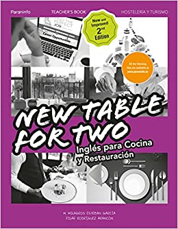 New Table for two. Inglés para cocina y restauración 2.ª ...