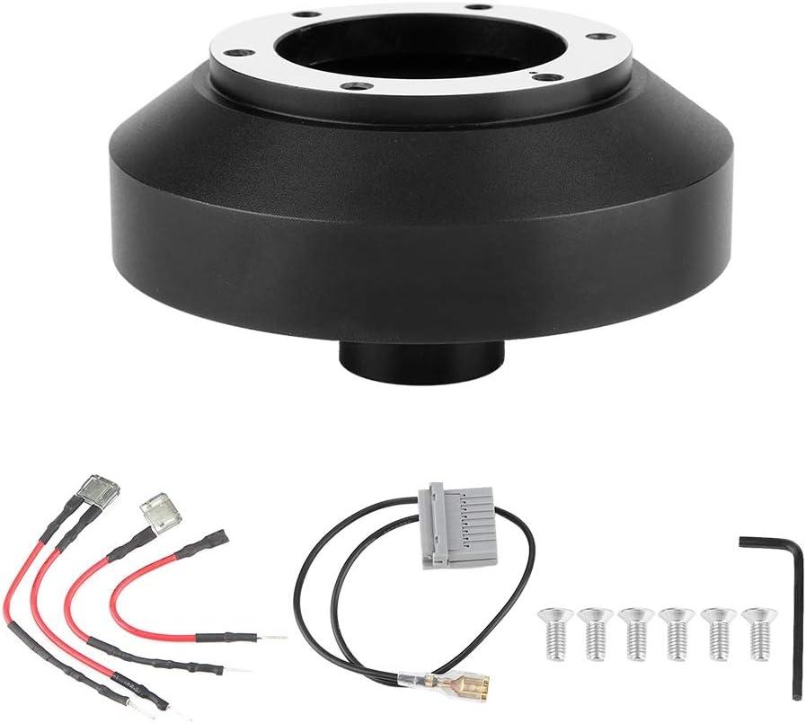 Suuonee Steering Wheel Hub Adapter Car Steering Wheel 6-Hole Quick Release Hub Adapter Boss Kit For Nissan 350Z 370Z Amada Versa