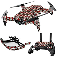 MightySkins Skin for DJI Mavic Air Drone - Sugar Skull | Max Combo Protective, Durable, and Unique Vinyl Decal wrap cover | Easy To Apply, Remove, and Change Styles | Made in the USA