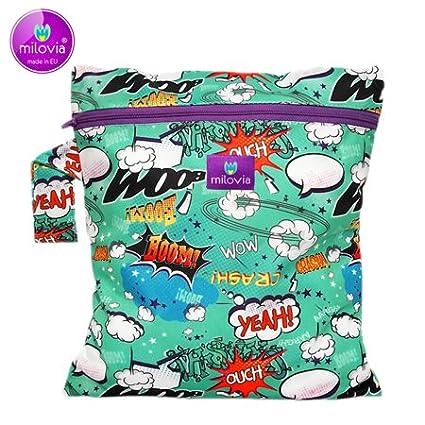 milovia impermeable húmedo funda/wetbag–(25X 30cm) milovia wetbag Bam Boom