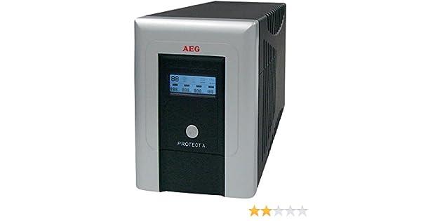 AEG Protect A. 1400 VA - Fuente de alimentación Continua (UPS ...
