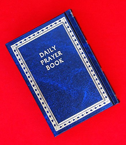 Daily Prayer Book-siddur Jewish Prayer Service Book Hebrew to English Translation Navy Blue, Hard Cover Israel (Siddur Cover)