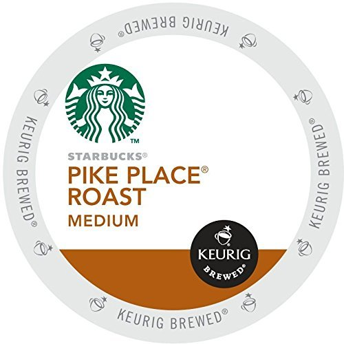 STARBUCKS PIKE PLACE ROAST COFFEE K CUP (84 Count)