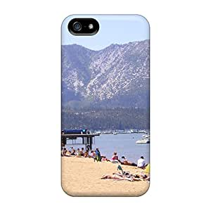 Fashion Protective Lake Tahoe Beach Parks Case Cover For Iphone 5/5s