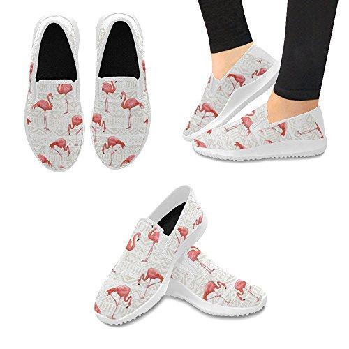 Mocassino Slip-on Donna Interestprint Sneakers In Tela Multi Moda 4