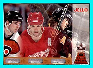 1996-97 Kraft Jello Jell-o Upper Deck #57 John LeClair Brendan Shanahan Jaromir Jagr FLYERS RED WINGS PENGUINS