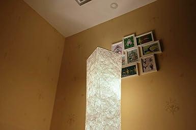 Schlafzimmer(154 26 26cm) 61 LEONC Stehleuchte LOUNGE DESIGN STEHLAMPE Bodenlampe Wohnzimmerlamp f/ür Wohnzimmer