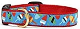 product image for Up Country Nautical Buoys or Popsicles Premium Ribbon Dog Pet Collar Small