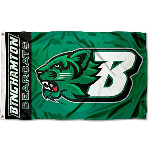 College Flags and Banners Co. Binghamton Bearcats Flag ()